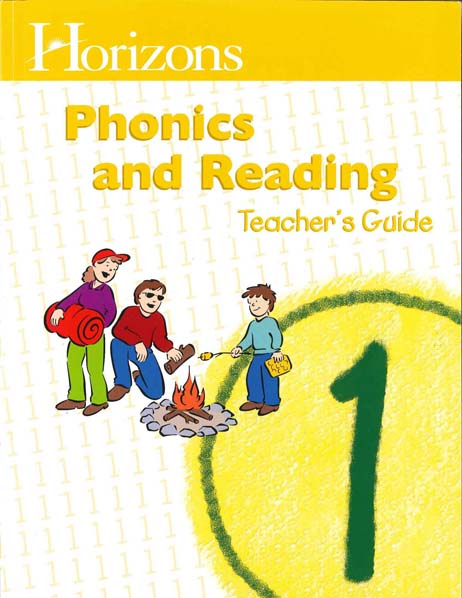 Horizons 1st Grade Phonics & Reading Teacher's Guide from Alpha Omega Publications