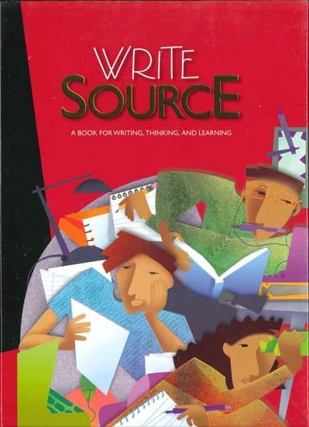 Write Source Grade 10 Textbook from Houghton Mifflin Harcourt