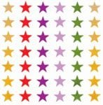 Assorted Stars from Accelerated Christian Education