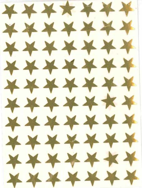 Gold Stars (280) from Accelerated Christian Education