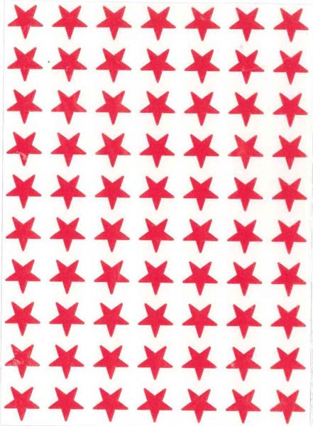 Red Stars (280) from Accelerated Christian Education