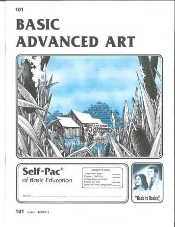 Advanced Art Unit 12 (Pace 108) from Accelerated Christian Education