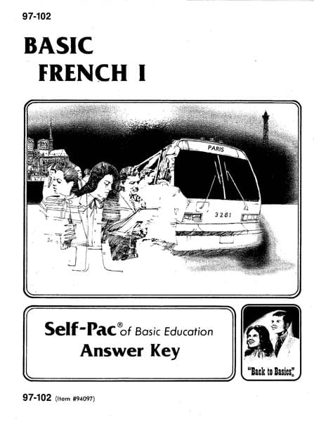 French I Key 1097-1102
