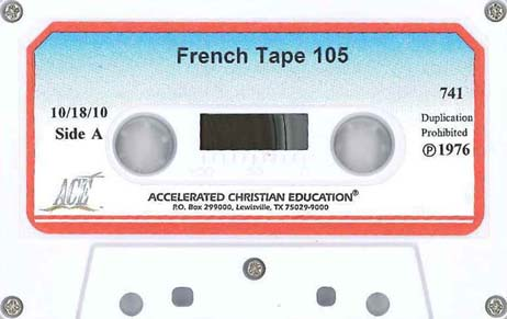French Tape Set