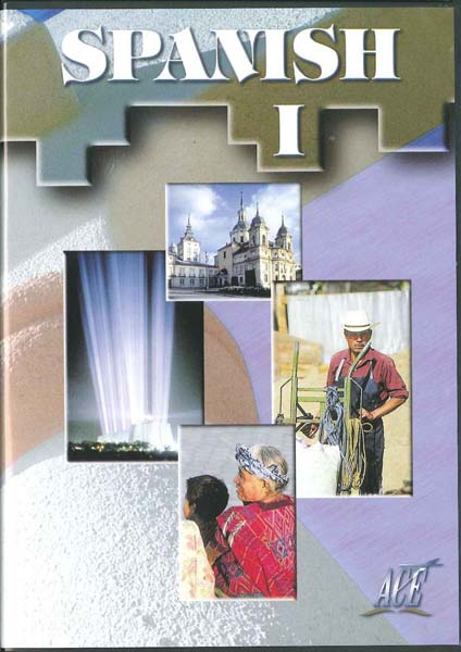 Spanish I Test DVD 1-12 from Accelerated Christian Education