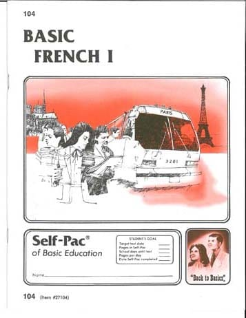 French I Pace 1098