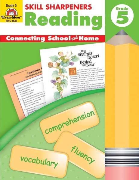 Skill Sharpeners Reading Grade 5 from Evan-Moor