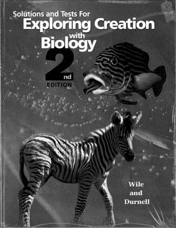 Solutions and Tests For Exploring Creation with Biology from Apologia