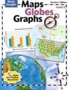 Maps, Globes and Graphs Level E Teacher's Guide by Steck-Vaughn