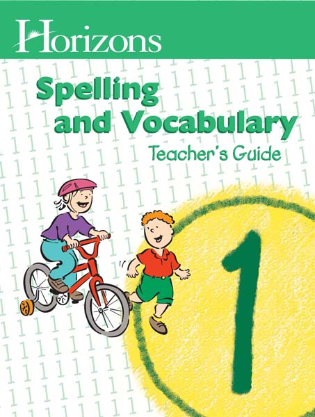 Horizons 1st Grade Spelling & Vocabulary Teacher's Guide from Alpha Omega Publications