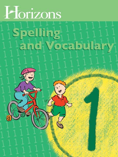 Horizons 1st Grade Spelling & Vocabulary Student Book from Alpha Omega Publications