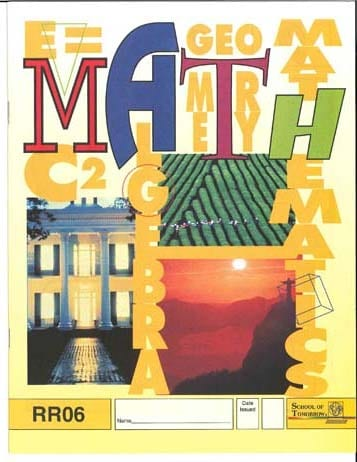 Reading Readiness Math PACE 6 from Accelerated Christian Education