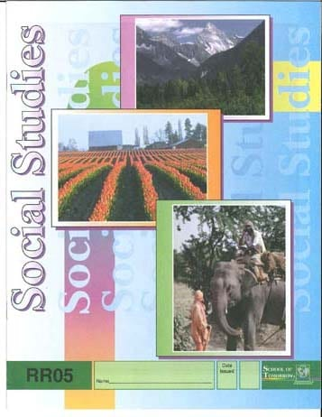 Reading Readiness Social Studies Pace 7 from Accelerated Christian Education