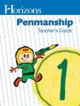 Horizons 1st Grade Penmanship Teacher's Guide from Alpha Omega Publications