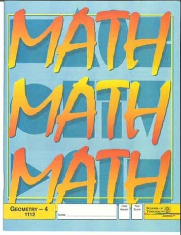 10th Grade Geometry Pace Set (High School) from Accelerated Christian  Education ACE