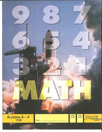 Algebra II Unit 12 (Pace 1132) (High School) from Accelerated Christian Education