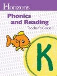 Horizons Kindergarten Phonics & Reading Teacher's Guide 1 from Alpha Omega Publications