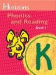 Horizons Kindergarten Phonics & Reading Student Book 3 from Alpha Omega Publications