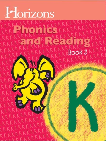 Horizons Kindergarten Phonics & Reading Student Book 3 from Alpha Omega Publications