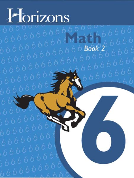 Horizons 6th Grade Math Student Book 2 from Alpha Omega Publications
