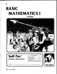 College Math 1 from Accelerated Christian Education