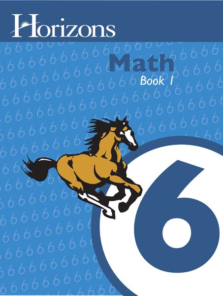 Horizons 6th Grade Math Student Book 1 from Alpha Omega Publications