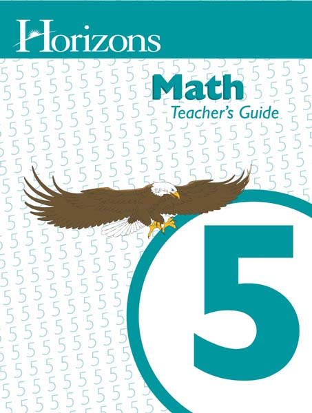 Horizons 5th Grade Math Teacher's Guide from Alpha Omega Publications
