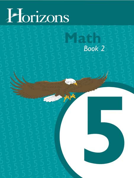 Horizons 5th Grade Math Student Book 2 from Alpha Omega Publications
