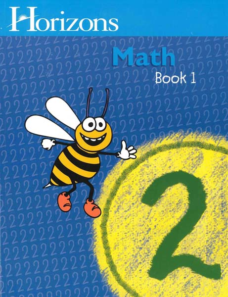 Horizons 2nd Grade Math Student Book 1 from Alpha Omega Publications