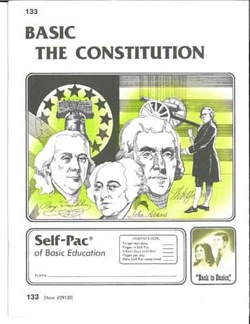 12th Grade Constitution Complete Course (High School) from Accelerated Christian Education