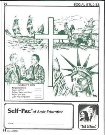 World History Unit 7 (Pace 103) (High School) from Accelerated Christian Education