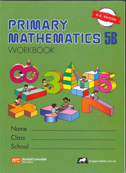 Primary Math Workbook 5B US Edition by Singapore Math