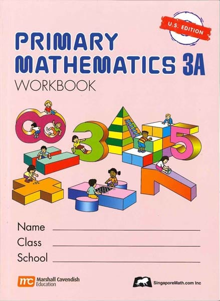 Primary Math Workbook 3A US Edition by Singapore Math