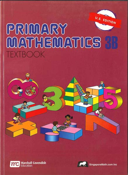 Primary Math Textbook 3B US Edition by Singapore Math