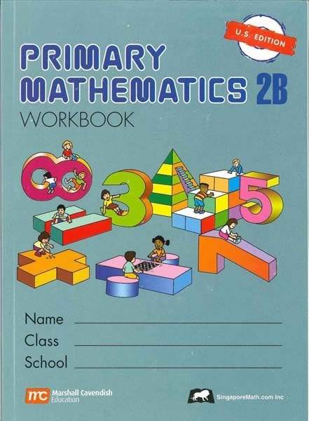 Primary Math 2B Workbook US Edition by Singapore Math! Save Now!