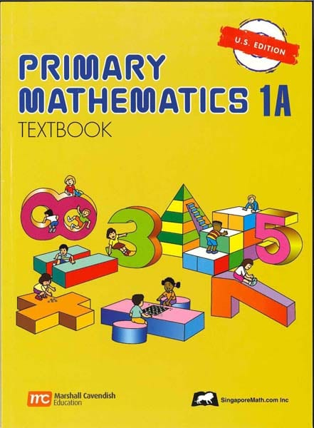 Primary Math Textbook 1A US Edition by Singapore Math