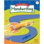 Handwriting 6 Manuscript and Cursive Maintenance from Zaner-Bloser