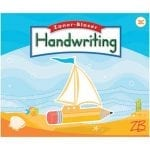 Handwriting 2C Manuscript Mastery and Cursive Basics by Zaner-Bloser