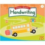 Handwriting Grade 1 Intro to Manuscript Handwriting Student Edition by Zaner-Bloser