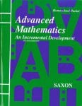 Advanced Mathematics Homeschool Packet w/Test Forms from Saxon Math