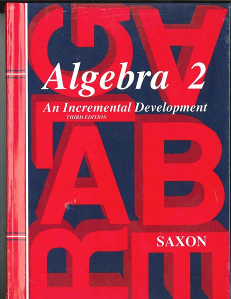 Algebra 2 Homeschool Kit Third Edition from Saxon Math
