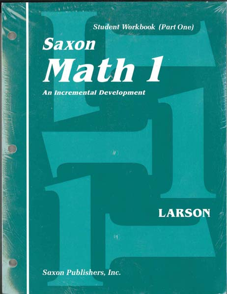 Math 1 Complete Homeschool Kit First Edition from Saxon Math