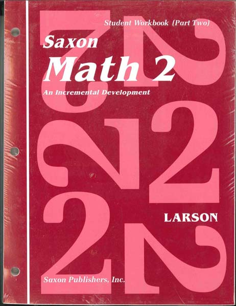Math 2 Complete Homeschool Kit from Saxon Math
