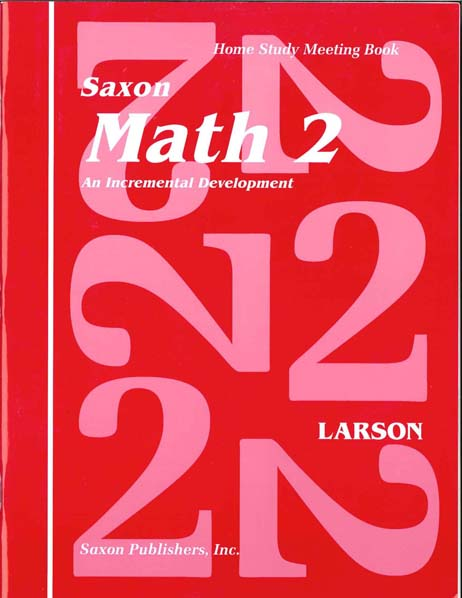 Math 2 Homeschool First Edition Student's Meeting Book from Saxon Math