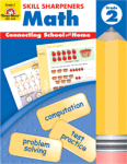 Skill Sharpeners Math Grade 2 from Evan-Moor