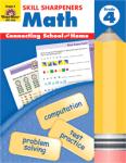 Skill Sharpeners Math Grade 4 from Evan-Moor