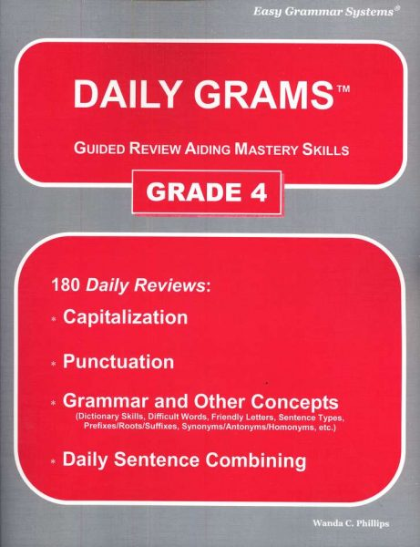 Daily Grams: Grade 4 Teacher Text from Easy Grammar Systems