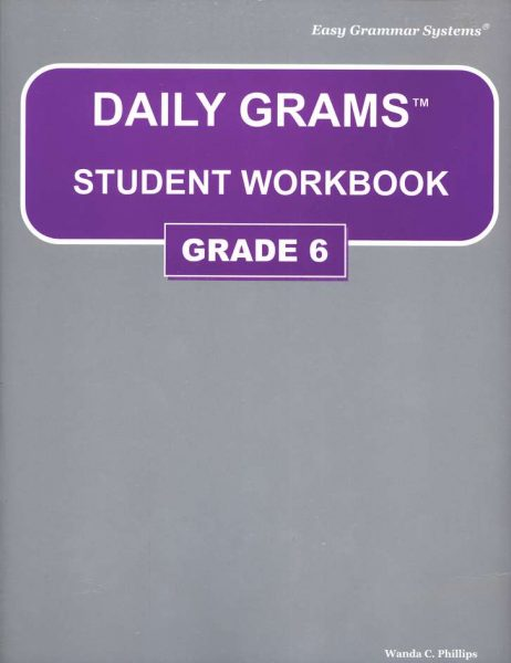 Daily Grams: Grade 6 Workbook from Easy Grammar Systems