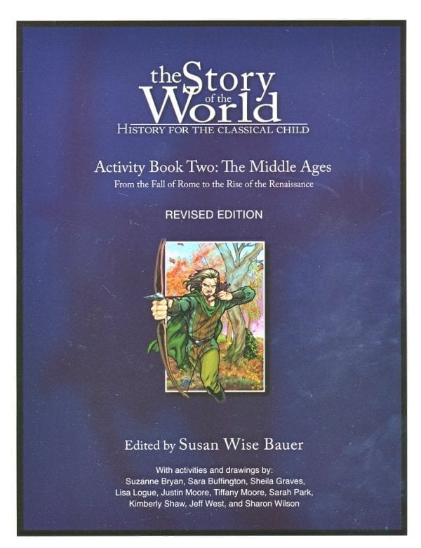 Story of the World: Volume II The Middle Ages Activity Book from Peace Hill Press