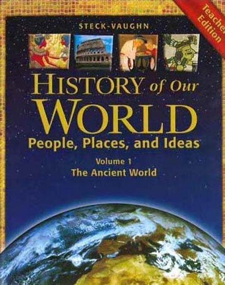History of Our World Book I Teacher's Guide by Steck-Vaughn